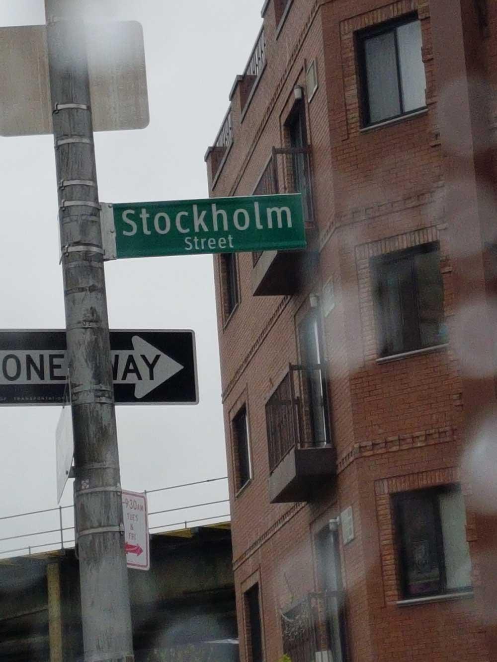 Stockholm street i Brooklyn